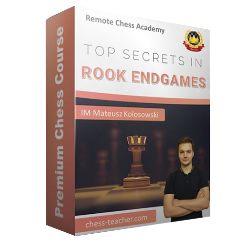 Top Secrets in Rook Endgames with IM Mat Kolosowski