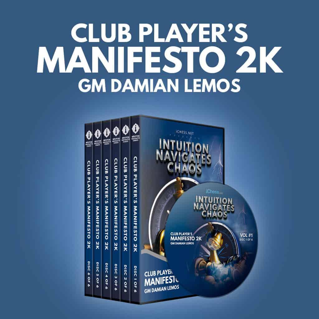 Club Player's Manifesto 2K – GM Damian Lemos