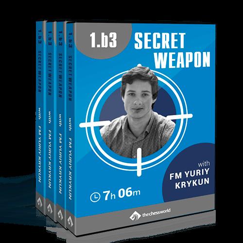 1.b3 Secret Weapon with FM Yuriy Krykun