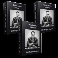 Chess Lessons by GM Mesgen Amanov – Vol. 1-3 Bundle