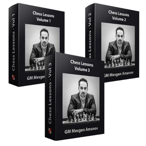 Chess Lessons by GM Mesgen Amanov - Vol. 1-3 Bundle
