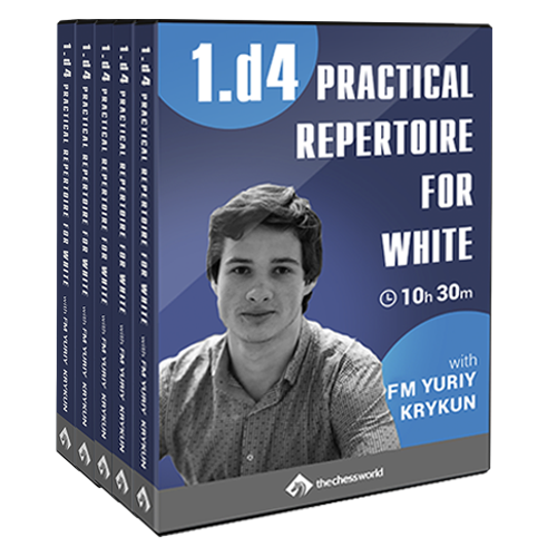 1.d4 Practical Repertoire for White with FM Yuriy Krykun