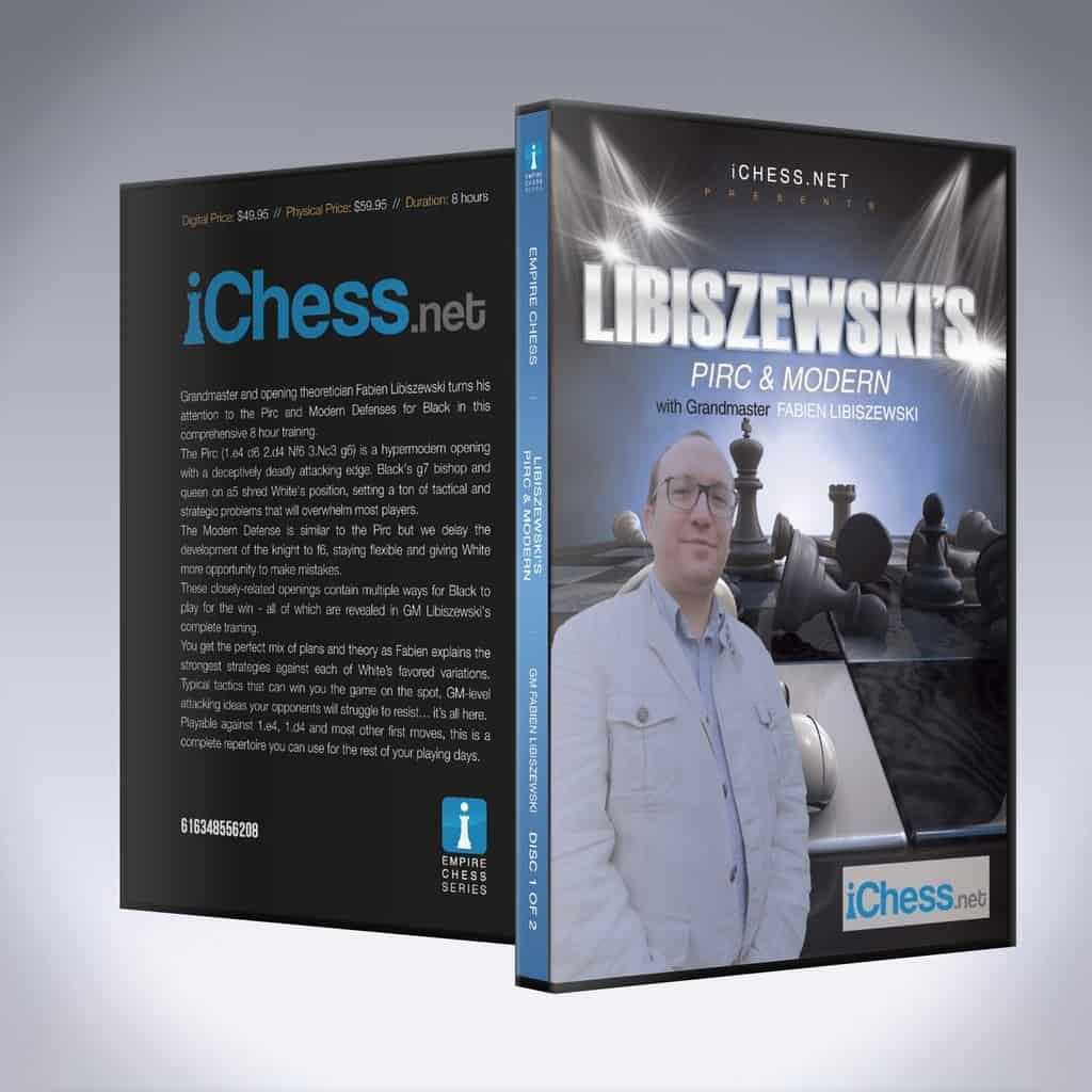 Libiszewski's Pirc & Modern – GM Fabien Libiszewski