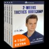 2 weeks tactics bootcamp