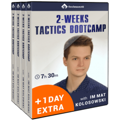 2 weeks tactics bootcamp