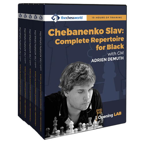 Chebanenko Slav Complete Repertoire for Black with GM Adrien Demuth
