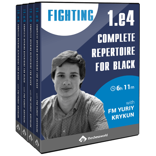 complete opening repertoire for black