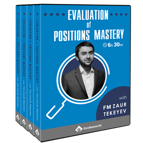 Evaluation of Positions Mastery with FM Zaur Tekeyev