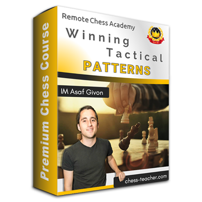 Winning Tactical Patterns with IM Asaf Givon