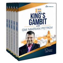 King's Gambit Mastermind with GM Marian Petrov