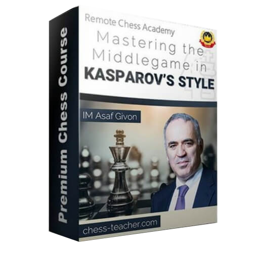 Master the Middlegame in Kasparov's Style with IM Asaf Givon