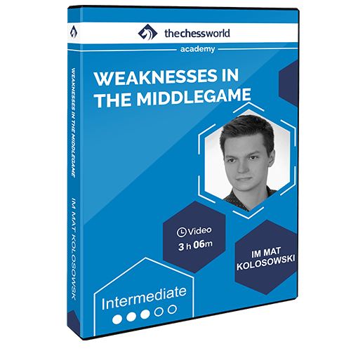 Weaknesses in the Middlegame with IM Mat Kolosowski