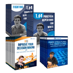 Advanced Chess Strategies and Tactics for Intermediate Players Course Bundle