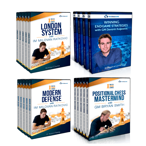 Mastering Chess for Advanced Players Course Bundle