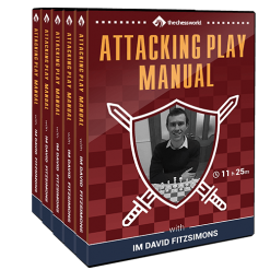 Attacking Play Manual with IM David Fitzsimons