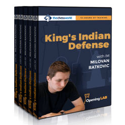King's Indian Defense Opening Lab with IM Milovan Ratkovic