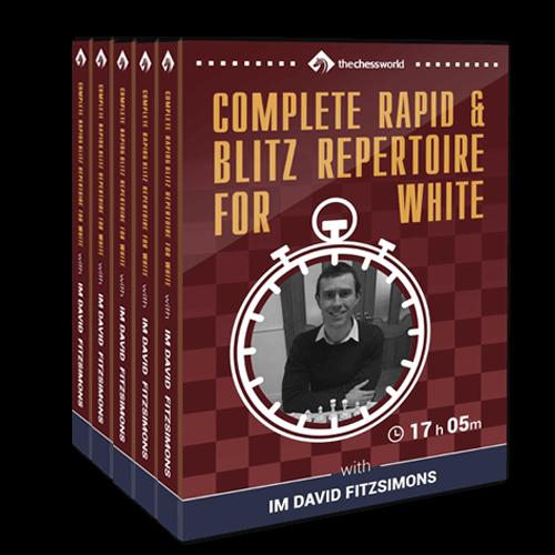Complete Rapid & Blitz Repertoire for White with IM David Fitzsimons