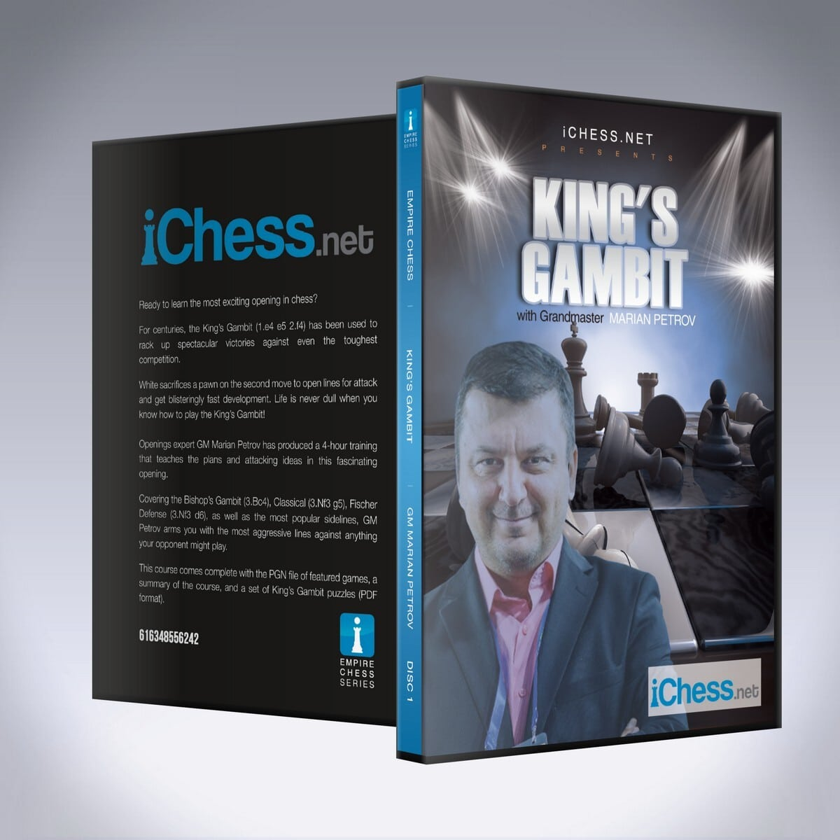 The King's Gambit – GM Marian Petrov