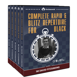 Complete Rapid & Blitz Repertoire for Black with IM David Fitzsimons