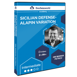 Sicilian Defense – Alapin Variation with GM Marian Petrov