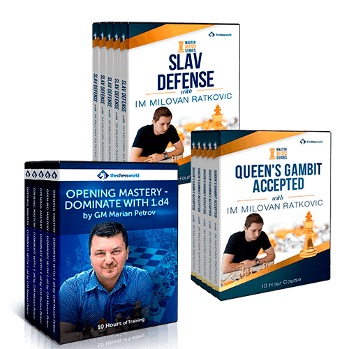 Learn to Master the Queen's Gambit Course Bundle