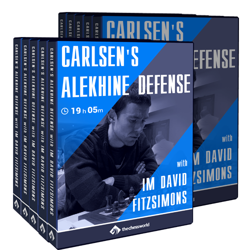 Carlsen's Alekhine Defense with IM David Fitzsimons