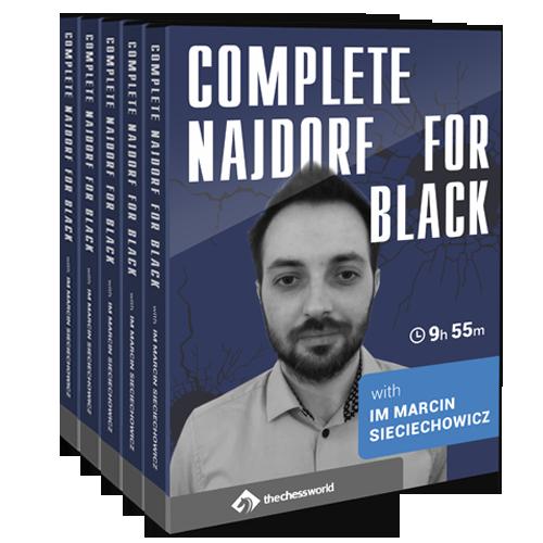 Complete Najdorf for Black with IM Marcin Sieciechowicz