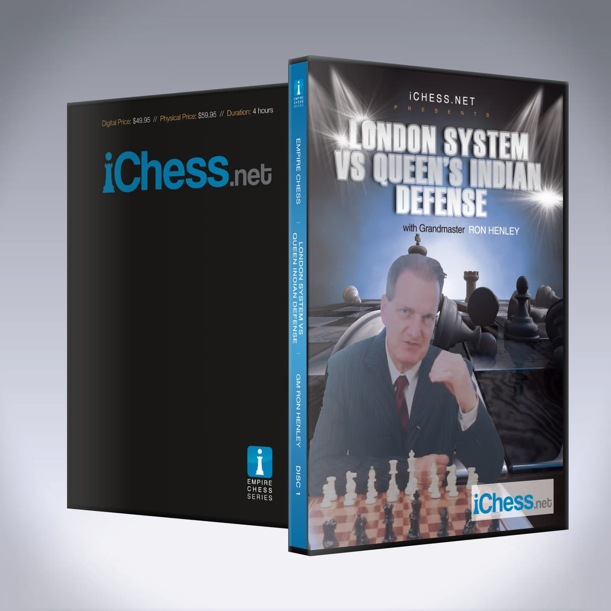 The London System vs. Queen's Indian Defense – GM Ron W. Henley