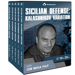 Sicilian Defense: Kalashnikov Variation with GM Misa Pap