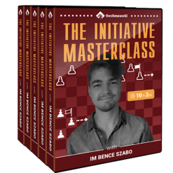 The Initiative Masterclass with IM Bence Szabo