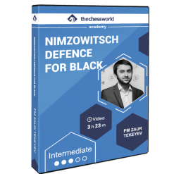 Nimzowitsch Defence for Black with FM Zaur Tekeyev