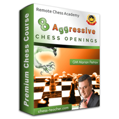 8 Aggressive Chess Openings with GM Marian Petrov