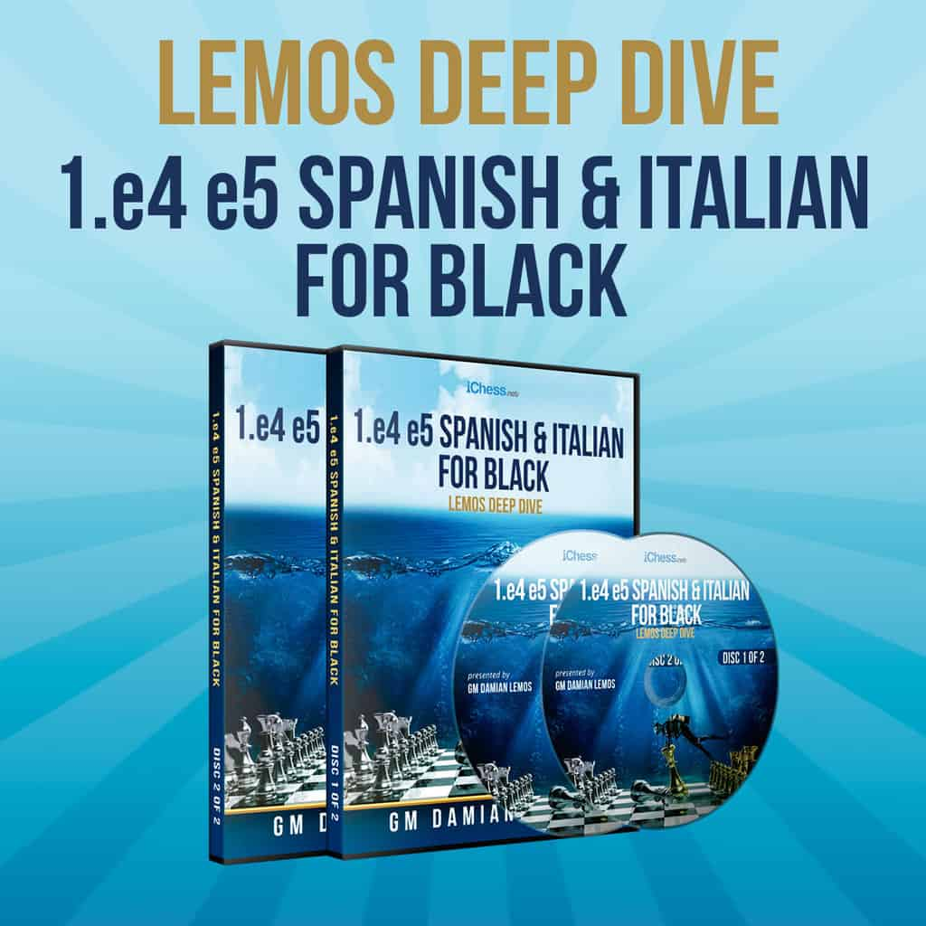 1.e4 e5 Beating Italian and Ruy Lopez with Black (Deep Dive Vol. 18)