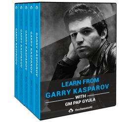 Learn from Garry Kasparov with GM Pap Gyula