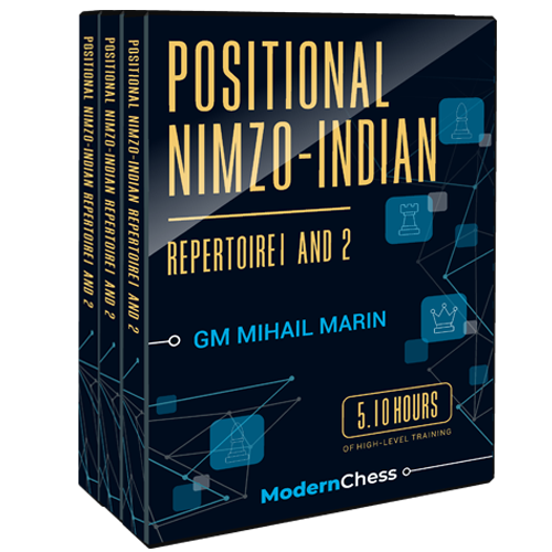 Positional Nimzo-Indian Repertoire 1 and 2 with GM Mihail Marin
