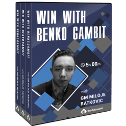Win with Benko Gambit by GM Miloje Ratkovic