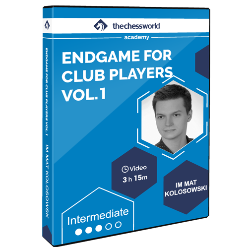 Endgame for Club Players Vol. 1 with IM Mat Kolosowski
