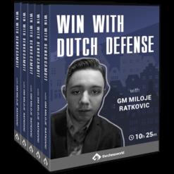Win with Dutch Defense with GM Miloje Ratkovic