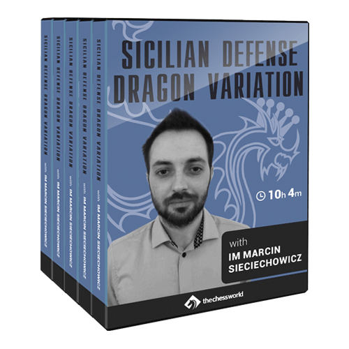 Sicilian Defense Dragon Variation with IM Marcin Sieciechowicz