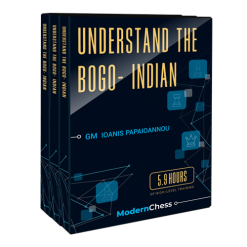 Understand the Bogo-Indian Defense with GM Ioannis Papaioannou