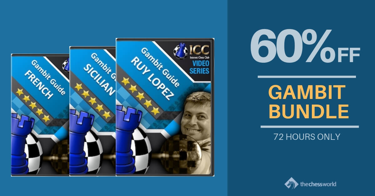 Gambits Bundle — 21 Days to Supercharge Your Chess by TheChessWorld com
