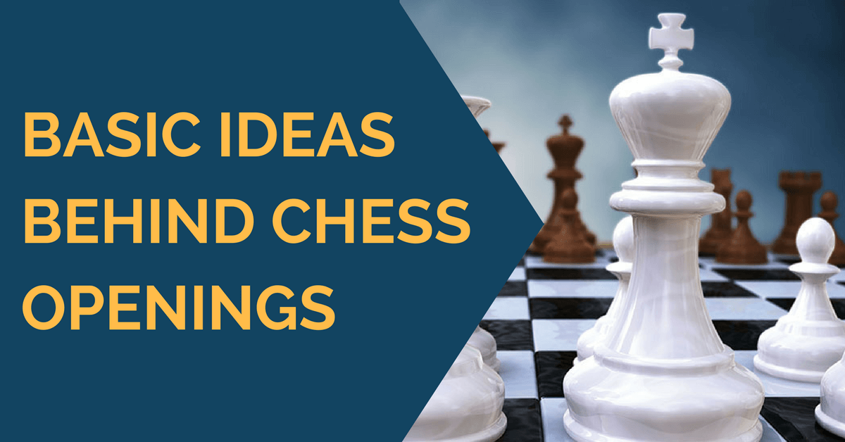 Basic ideas behind chess openings