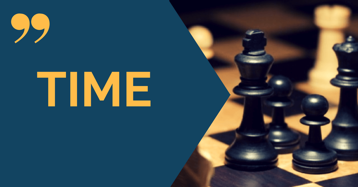 time chess quotes