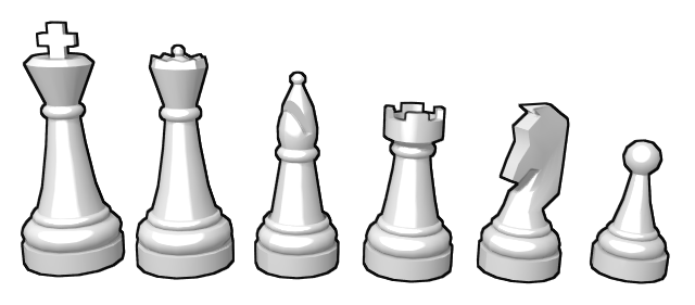 chess pieces facts