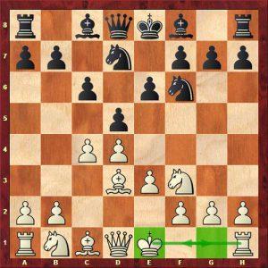 شاه قلعه کوچک-دومین حرکت یا قانون شطرنج حرفه ای