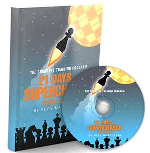 21 Days to Supercharge Your Chess