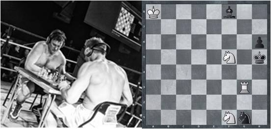 Solve 3 Tactics Problems and Win 3 VIP ChessBoxing Tickets!