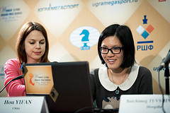 Women's FIDE Grand Prix 2013: Round 2