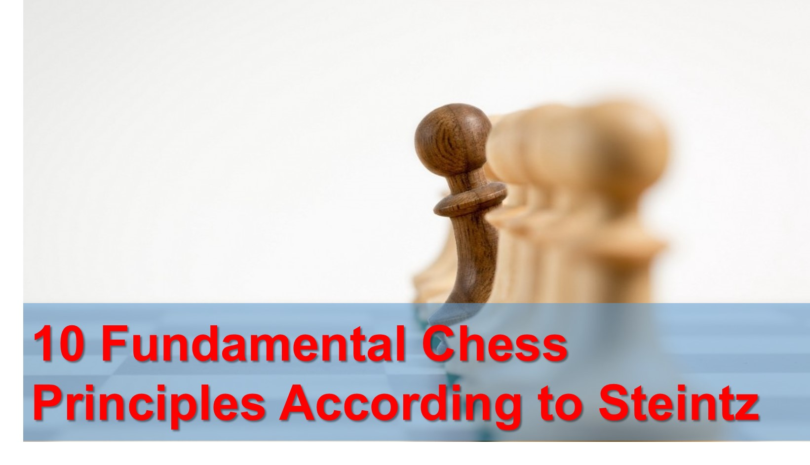 10 Fundamental Chess Principles According to Steinitz