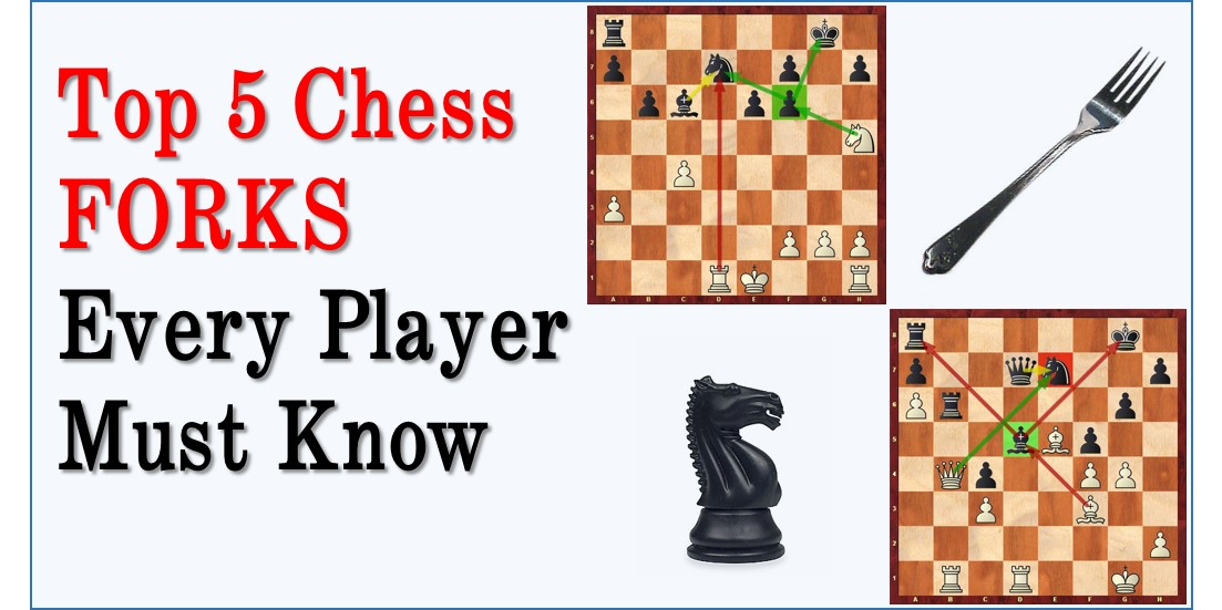 Top 5 Types of  Forks Every Chess Player Must Know